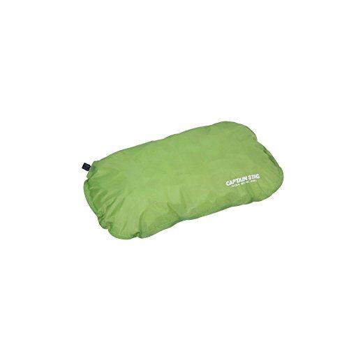 キャプテンスタッグ(CAPTAIN STAG) キャンプ用品 枕 防水 インフレータブル インフレーティングピロー グリ...