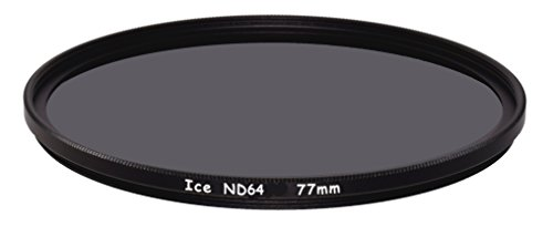 ICE 77mm ND64 Filter Neutral Density ND 64 77 6 Stop Optical Glass