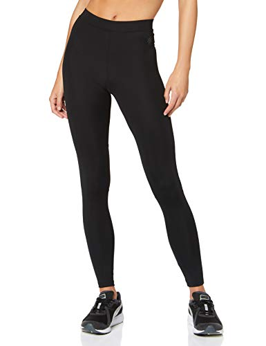 Amazon-Marke: AURIQUE Damen Sportleggings, Schwarz (Black), 40 (Herstellergröße: Large)