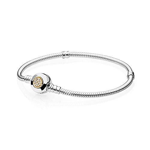 HJPAM 925 zilver ingelegd zonnebloem slang bot armband mode elegante eenvoudige sieraden gift vrouwelijke sieraden maken armband