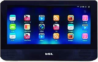 Reproductor DVD Android 9 Pulgadas portátil para Coche BSL-9TANDX | Pantalla táctil |con conexión Bluetooth y WiFi| 1GB RAM 8 GB ROM | HDMI, Micro USB Carga y Datos y Slot TF para microSD |