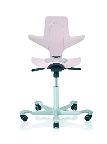 HAG Capisco Puls 8010 Bürostuhl, 200mm Gasfeder, BalancedMovement Mechanik® pink