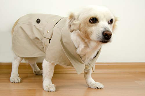 AQUATOLIA Dogs Clothing, hond regenjas - Beige