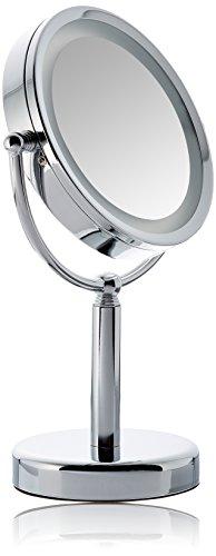 Solida Miroir sur pied lumineux