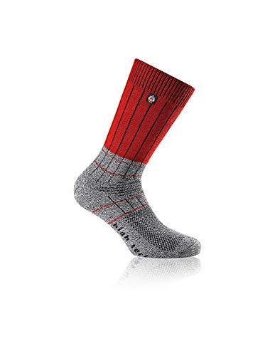 Rohner advanced socks | Wandersocken | SAC Fibre High Tech (39-41, Rot)