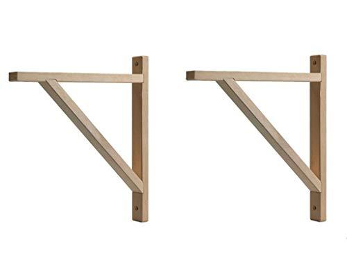 EKBY VALTER Halterung für Selves aus Holz, 2 Stück