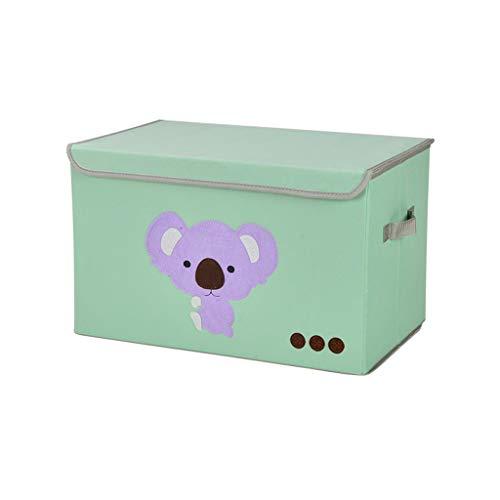 HTDZDX Caja de Almacenamiento del Organizador de la Caja del hogar portátil para Ropa Libro de Maquillaje de Ropa Interior Plegable (Color : Koala)