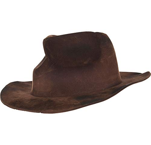 Suit Yourself Freddy Krueger Fedora Halloween Costume Accessory for Adults, A Nightmare on Elm Street, Brown, One Size