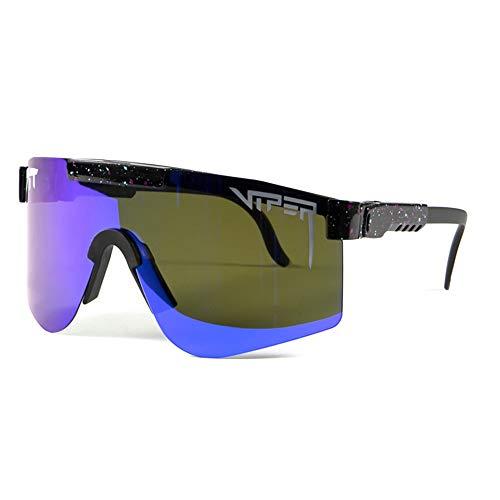 ZoliTime Deportes Gafas de sol polarizadas Hombres Mujeres Gafas a prueba de viento al aire libre Protección UV