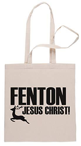 Rundi Fenton! Einkaufstasche Shopping Bag Beige