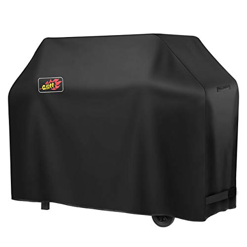 VicTsing Grill Cover, 58-Inch Waterproof BBQ Cover, 600D Heavy Duty Gas Grill Cover for weber,Brinkmann, Char Broil, Holland and Jenn Air(UV & Dust &...