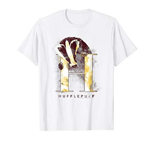 Harry Potter Hufflepuff Watercolor T-Shirt