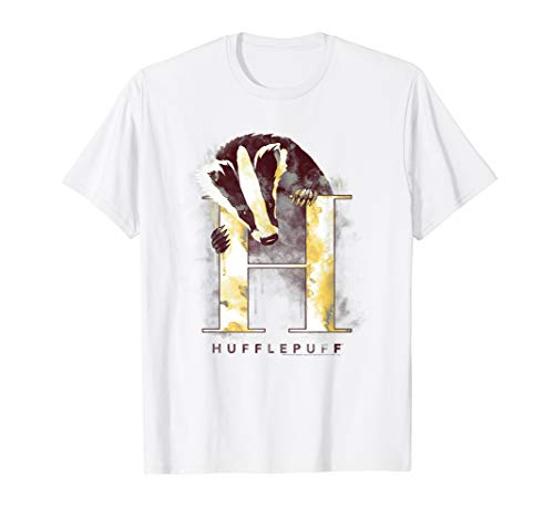 Harry Potter Hufflepuff Watercolor T-Shirt