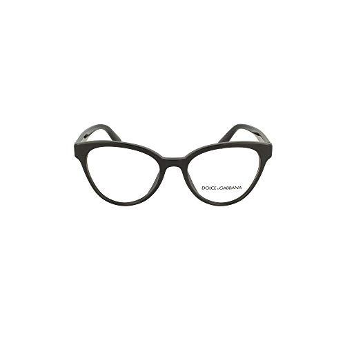 Dolce & Gabbana D&G DG3320 3320 501 - Gafas de sol para mujer (marco óptico negro de 51 mm)
