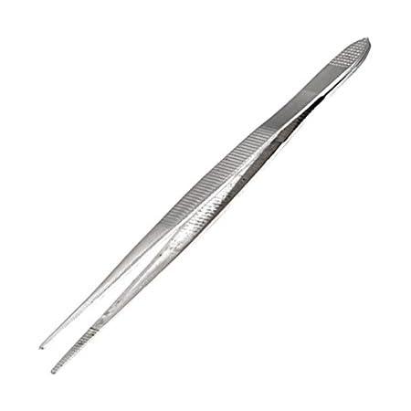 ALYCO 113142 113142-Pinza Precision 120 mm Rectas INOX