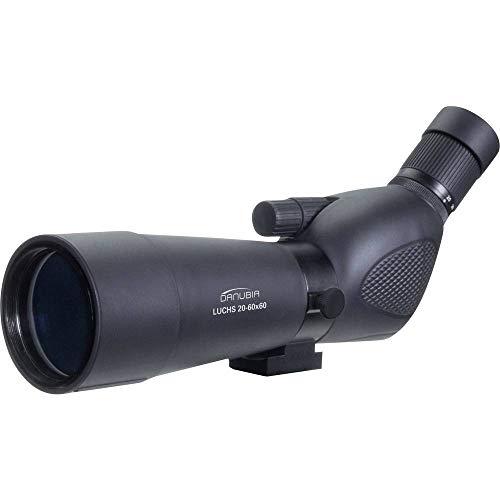 Dörr Danubia 538105 Zoom Spektiv Luchs 60 20-60x60 inkl. Tischstativ (Wetterfestes Gehäuse mit Gummiarmierung, 45 Grad Schrägeinblick) schwarz