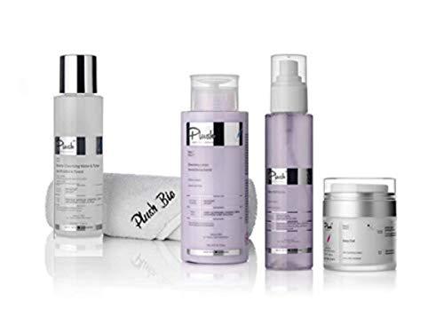 Plush luxuryBIOcosmetics - Set 4 products Jasmine + towel & thermal bag gift - cleansing, detoxifying - skin types: all