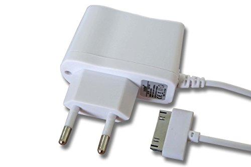 vhbw 220V Ladegerät Ladekabel Netzteil weiß für Apple IPod 10GB, 15GB, 20GB, 30GB, 40GB, 60GB, IPod Mini, 3G, 4G, 5G, Photo, Nano, Video, Classic,u.a.