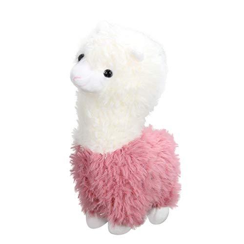 Toyvian 1 Stück Plüsch Alpaka Spielzeug Kuscheltiere Spielzeug Schaf für Kinder Baby, 28x10 cm