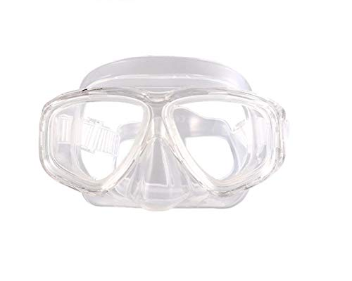ShuoBeiter Tauchermaske kurzsichtig Diving Tauch Schnorchel Maske NEARSIGHTED Verschreibung RX Sehstärke (Transparent, -1.5)