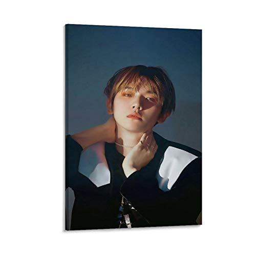OPDKS Kpop Poster EXO BAEKHYUN Love Shot Poster decorativo su tela da parete per soggiorno, camera da letto, 40 x 60 cm