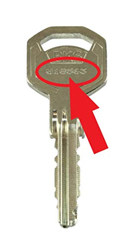 BKS WS50 Livius Nachschlüssel, Ersatzschlüssel nach Code für vorhandene BKS Profilzylinder der Serie 50 Livius, Schließungsnummer von W00000 bis W99999 lieferbar, Original BKS Rohlinge