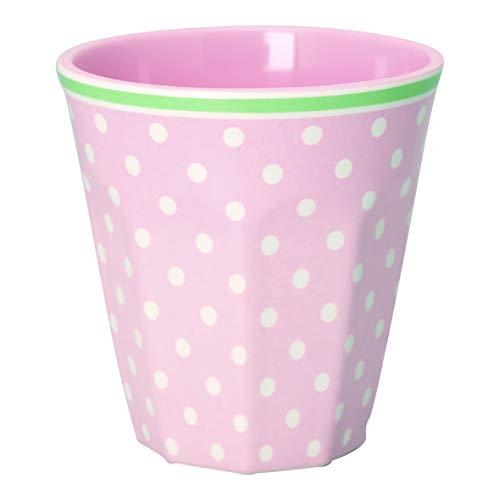 GreenGate - Tasse - Becher - Mug - rosa- Spot - Melamin - 250 ml