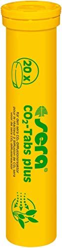 sera 08040 CO2-Tabs plus (20 CO2 Tabletten) geeignet für den sera CO2-Start bzw. das sera Pflanzenpflege Set, farblos