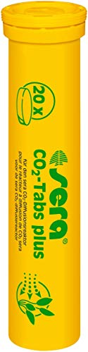 sera 08040 CO2-tabs plus (20 CO2 tabletten) geschikt voor de sera CO2-start of de sera plantenverzorgingsset