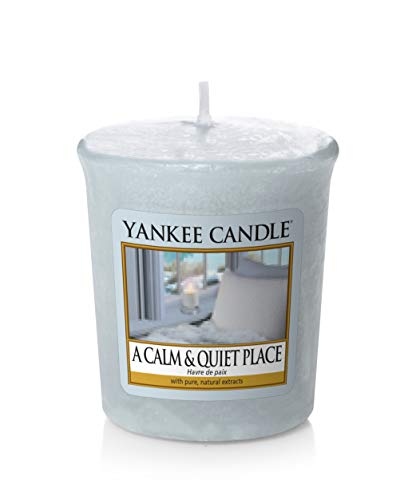 YANKEE CANDLE Samplers Votivkerzen, Wax, A Calm and Quiet Place, 4.6 x 4.8 x 1 cm