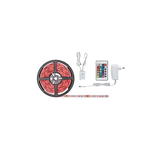 Paulmann 78978 SimpLED Strip Set 5 m LED Stripe 20W Lichtstreifen 3.000 K RGB Lichtband beschichtet
