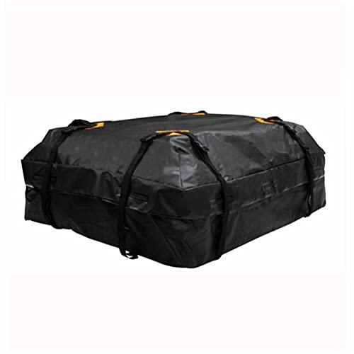 Settoo 420L Universal Cofre de Techo para Coche,420D Oxford Plegable Impermeable Techo Maleta para Viajes y Transporte de Equipaje, Automóviles, Camionetas, SUV (120x84x44 cm)