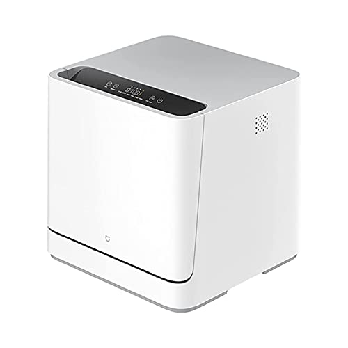 ELXSZJ XTZJ Countertop Dishwashers Portable Mini Dishwasher, Air Drying Function,360° Cycle Spray,6 Washing Programs,Glass&fruit for Home,Dorms,Apartment,RV