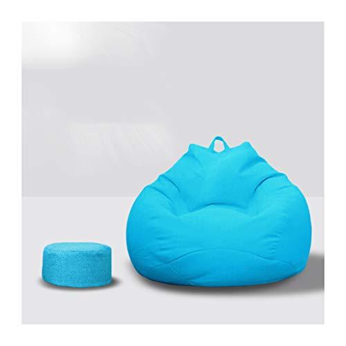 SD Bean Bag Chaise/Gante Sac de Haricots/canapé/Grande Fauteuil/Confortable/avec Repose-Pieds/avec oreiller/110 * 120 mm
