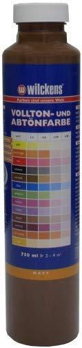 Wilckens Abtoenfarbe - Volltonfarbe / 750 ml/matt - 14 Farben zur Auswahl (Braun)