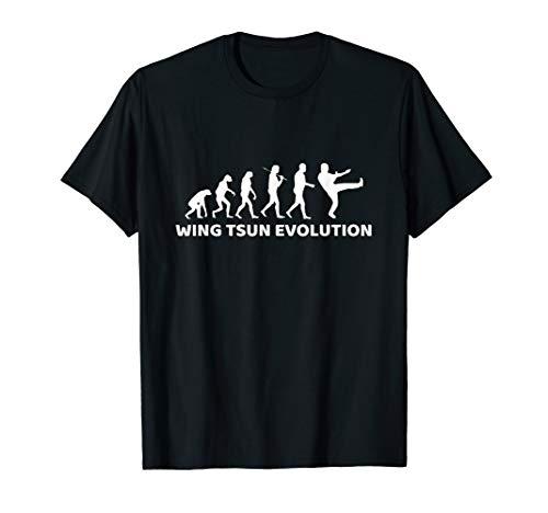 Wing Tsun T-Shirt Evolution Geschenk Wing Chun T-Shirt