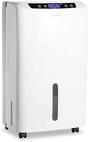 Waykar 2000 Sq Ft Dehumidifier for Home and Basements with Auto or Manual Drainage 0 66 Gallon product image