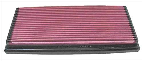 K&N 33-2539 Filtre à Air du Moteur: Haute Performance, Premium, Lavable, Filtre de Remplacement, Plus de Pouvoir, 1987-2010 (C8, Jumpy, C5, Xantia, Evasion, AX, BX, Expert, 807, 607, 406)