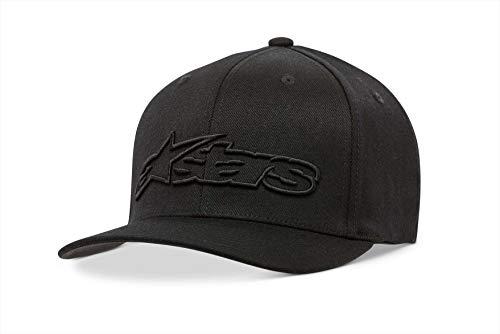 Alpinestars Blaze Flexfit Hat Gorra de béisbol, Negro...