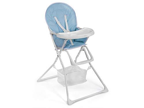 Hochstuhl Kinderhochstuhl Babyliege mit Tablett Fando blau Ricokids