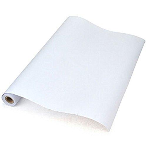 LINAZI Rotolo di carta da disegno, 45 cm x 12 m, versatile, ideale per cucito, schizzi, bricolage e confezionamento (1 pezzo)
