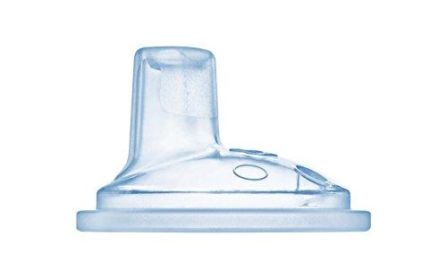 MAM Trinkschnabel Ultra Soft, extra weicher Trinkschnabel passend für alle MAM Becher, auslaufsicher und ideal für den Übergang vom Stillen oder der Flasche zum Glas, 4+ Monate, durchsichtig