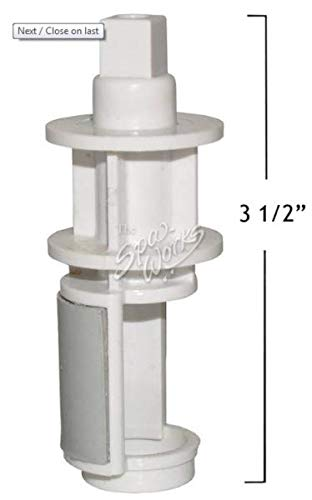 Hot Tub Classic parts Marquis Spa 1 Inch On/Off Neck and Waterfall Valve Insert 350-6326