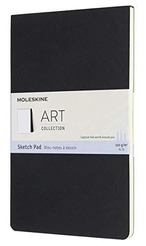 Moleskine - Cuaderno de Dibujo, Papel para Lápices, Carboncillo, Plumas Estilográficas y...