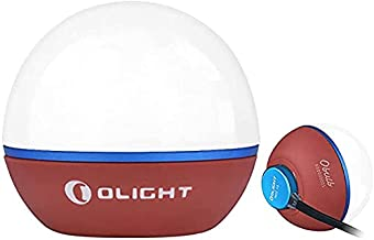 Olight Obulb 55 Lumens 4 Mode USB Magnetic Rechargeable Night Lights with Magnetic Bottom for Home Decor, Nursery, Campin...
