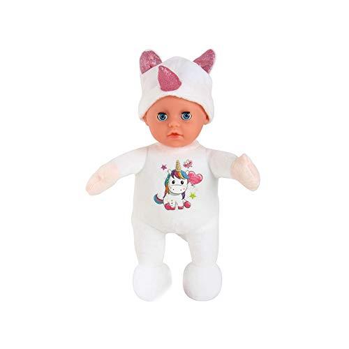 Metermall Spielzeug Zum Baby Simulation Puppe Kinder Schlafkomfort Mädchen Spielhaus Spielzeug...