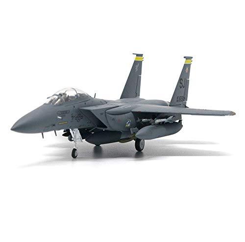 Longevidad 1/72 Escala Modelo de los Aviones, Militar F15E USAF Tormenta del Desierto 1991 Aleación, coleccionables y los Regalos for Adultos, 10.2inch X 6.7inch Durabilidad