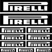 Sticker sluitzegel pegatina adhesivo, Pirelli 1,autocollants moto casque Sticker sluitzegels sluitzegel Aufkleber (ROYAL)