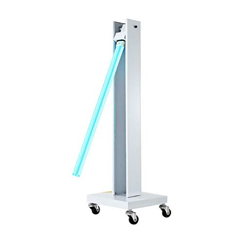 liu 100W / 150W Abnehmbare Hochleistungs-UV-Lampe Autodesinfektion Luft Ozon & freies UVC-Licht, UV-Licht Fernbedienung Timer