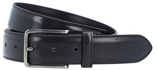 Gusti Gürtel Leder - Silva 105 cm schlichter Ledergürtel mit Schnalle Gürtel Accessoires Herren Leder